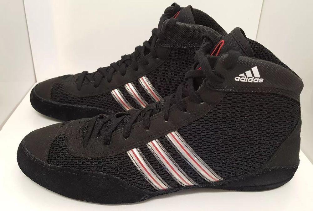 adidas wrestling scarpe mens 8 leggero maglia rosso