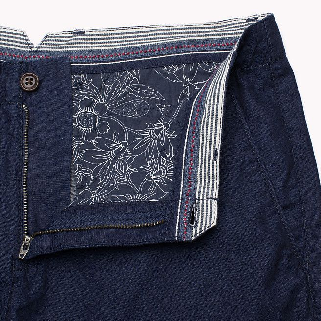 Brooklyn Shorts Mens Pants Denim Details Mens Trousers