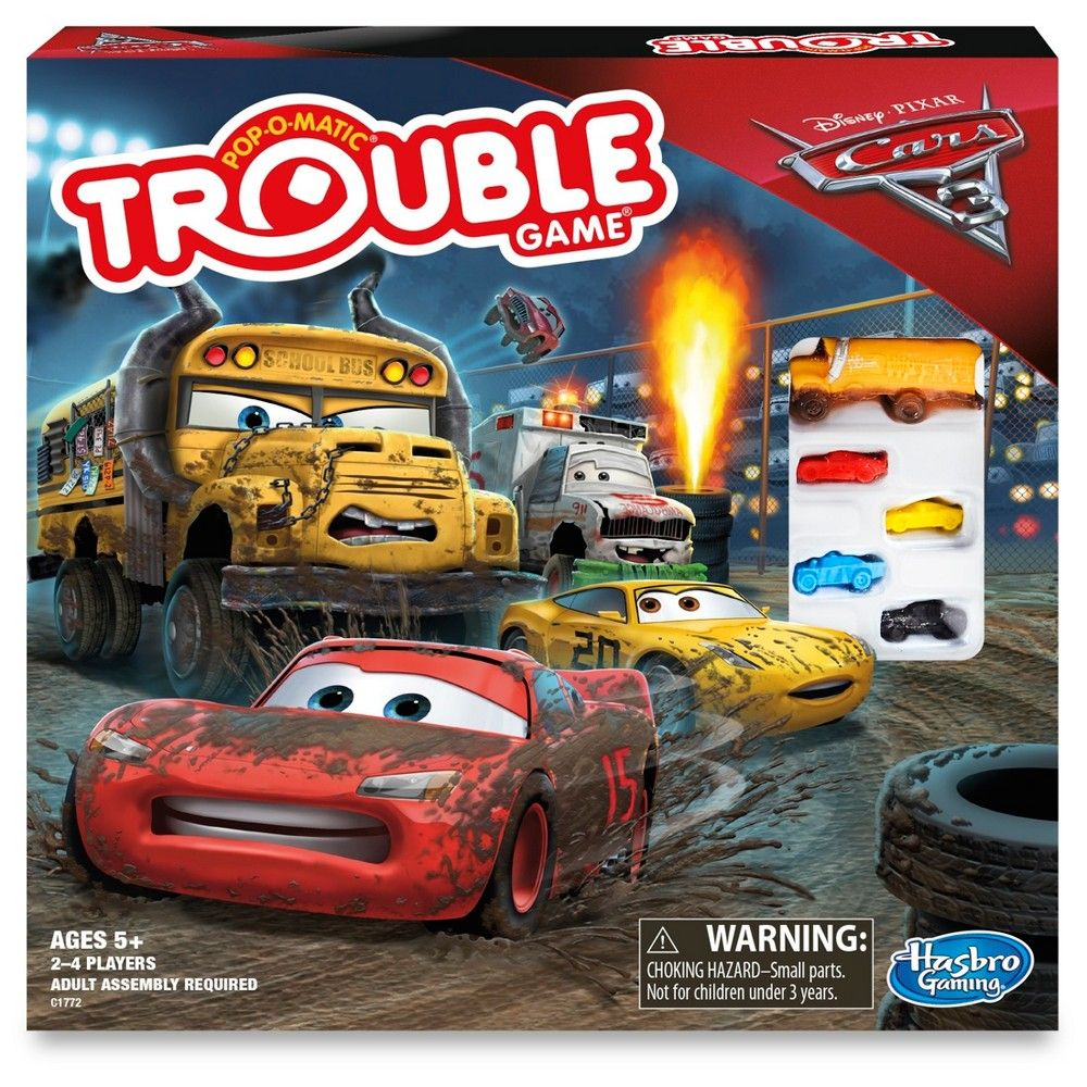 trouble disney pixar cars 3 lightning mcqueen game