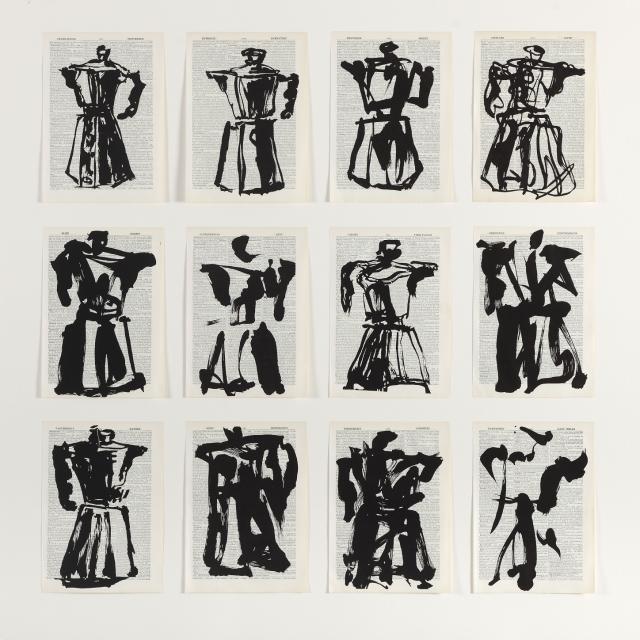 WILLIAM KENTRIDGE Untitled, 2012 Linocut printed on