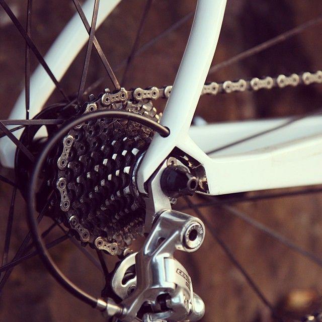 aero road bike dropout.  #bike #dropout #cycling