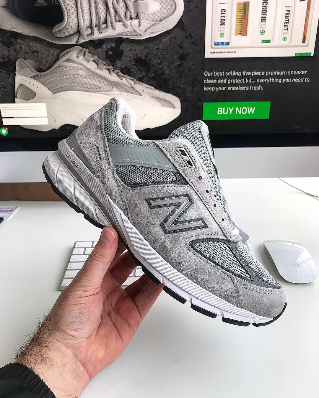 d1b640d7f683 New Balance provides a glimpse of it next flagship silhouette with the  990v5, the the successor to the 990V4. Find out when and where to cop here.