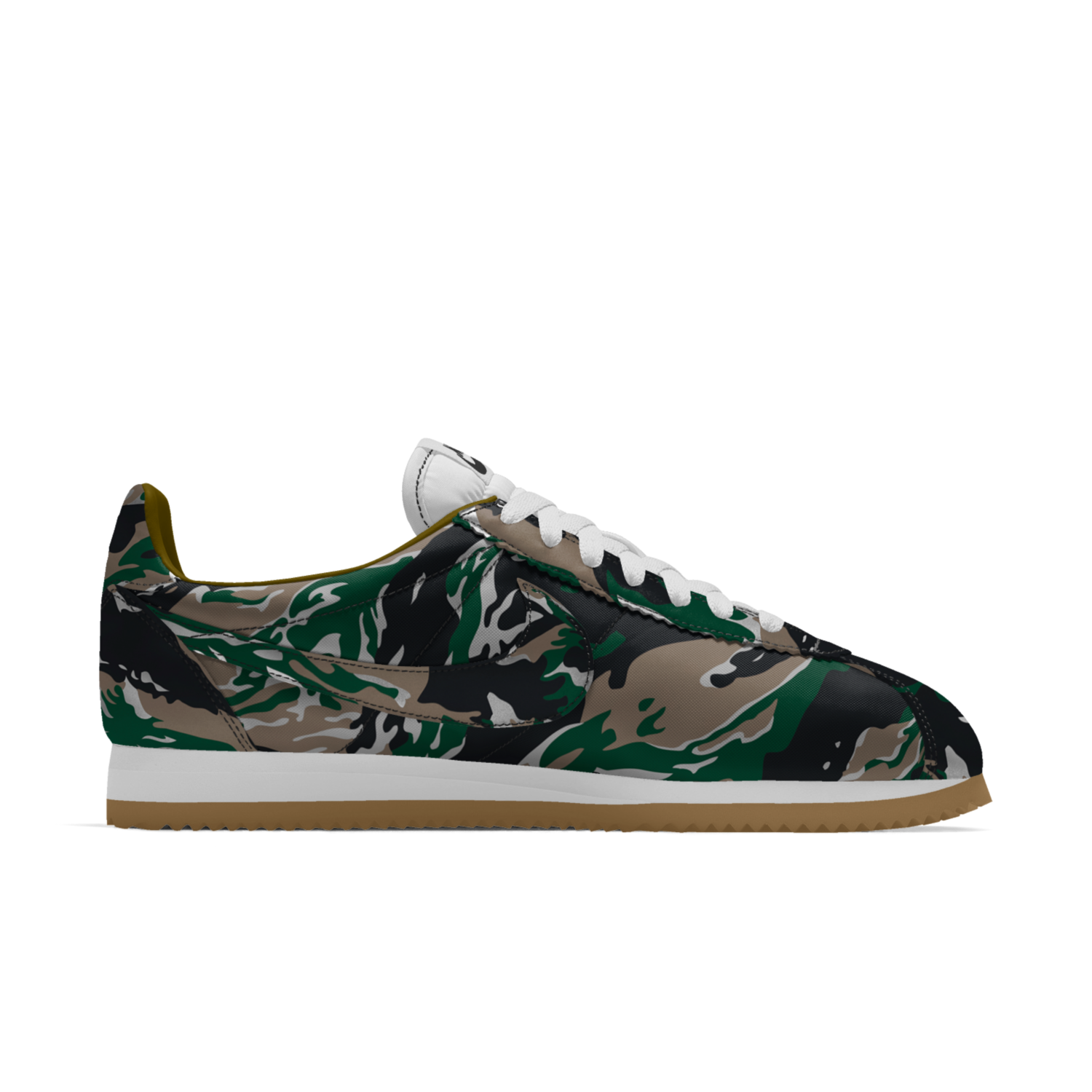 Nike Cortez iD Camo by Sneakers Addict #Nike #Inside #Sneakers