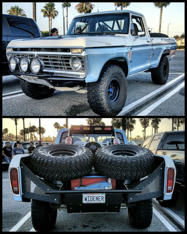 Classic Ford prerunner Ford trucks, Custom trucks