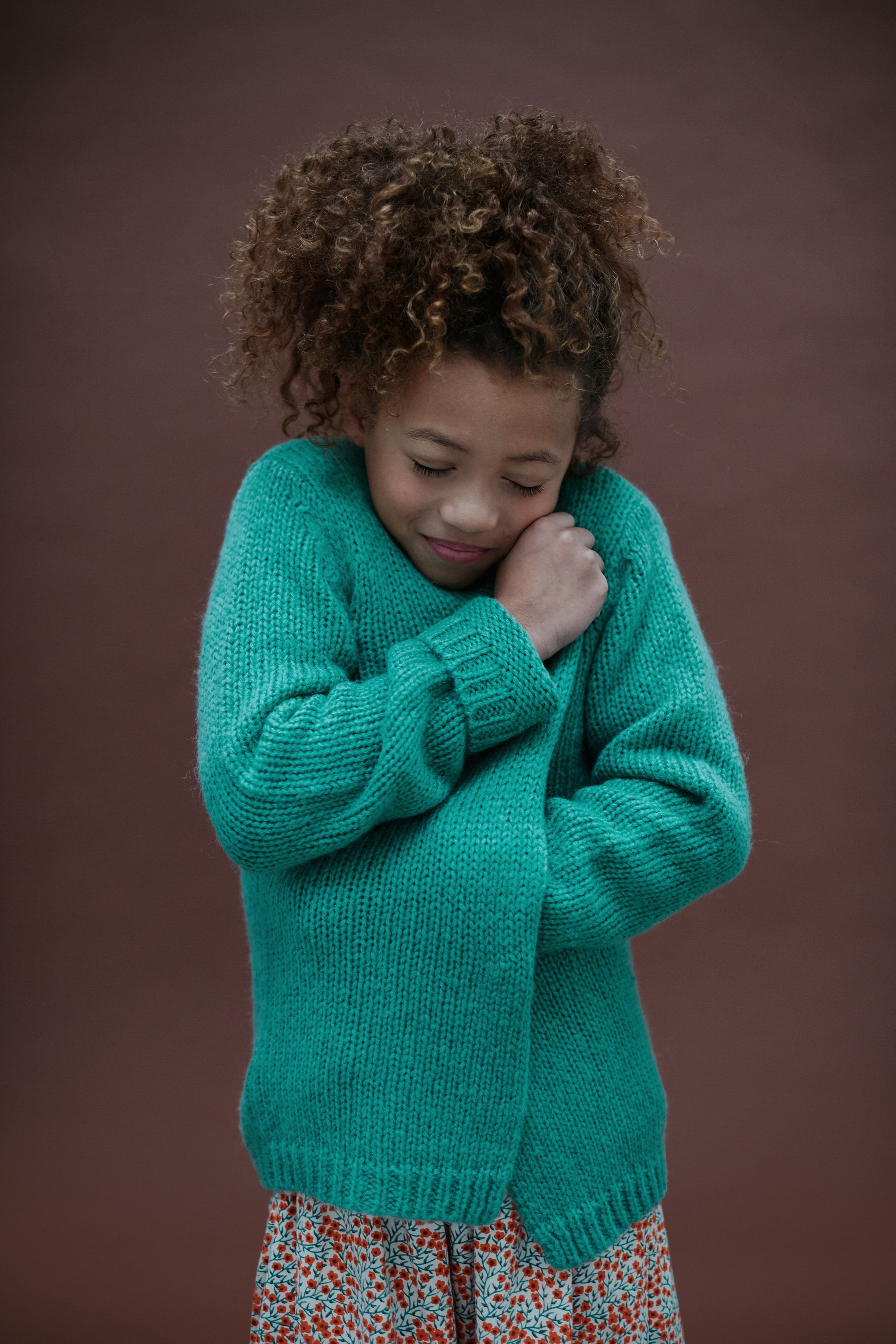 Lily Balou Cardigan Eloise Knit Sage Green