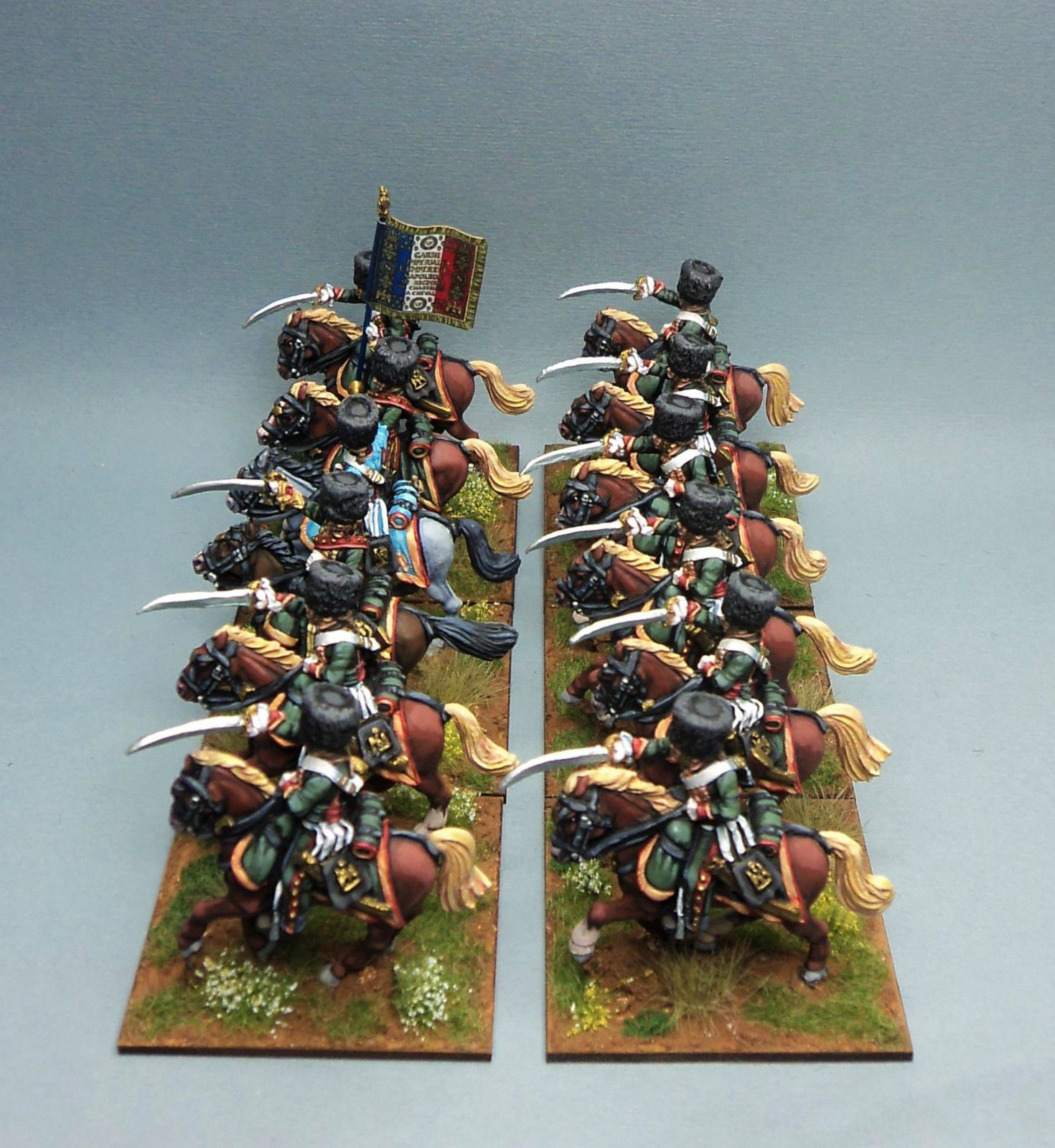 28mm Napoleonic Perry Miniatures French Chasseurs Front Rank Foundry