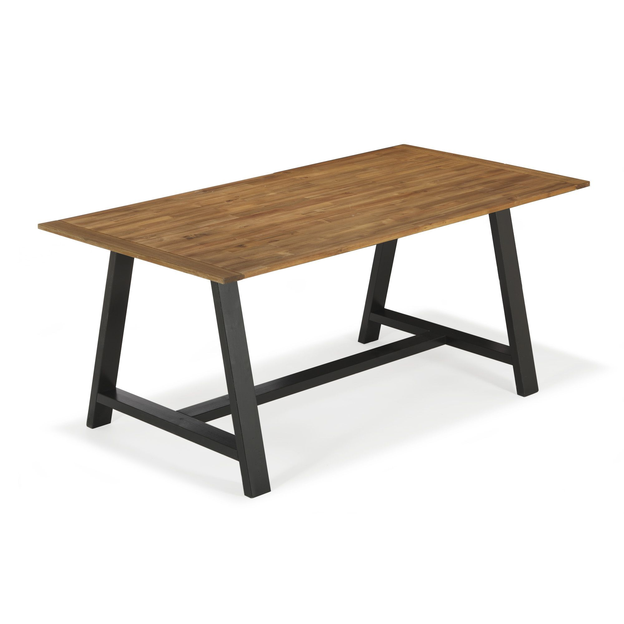 Table mange debout alinea table de bar bar de cuisine for Table exterieur alinea