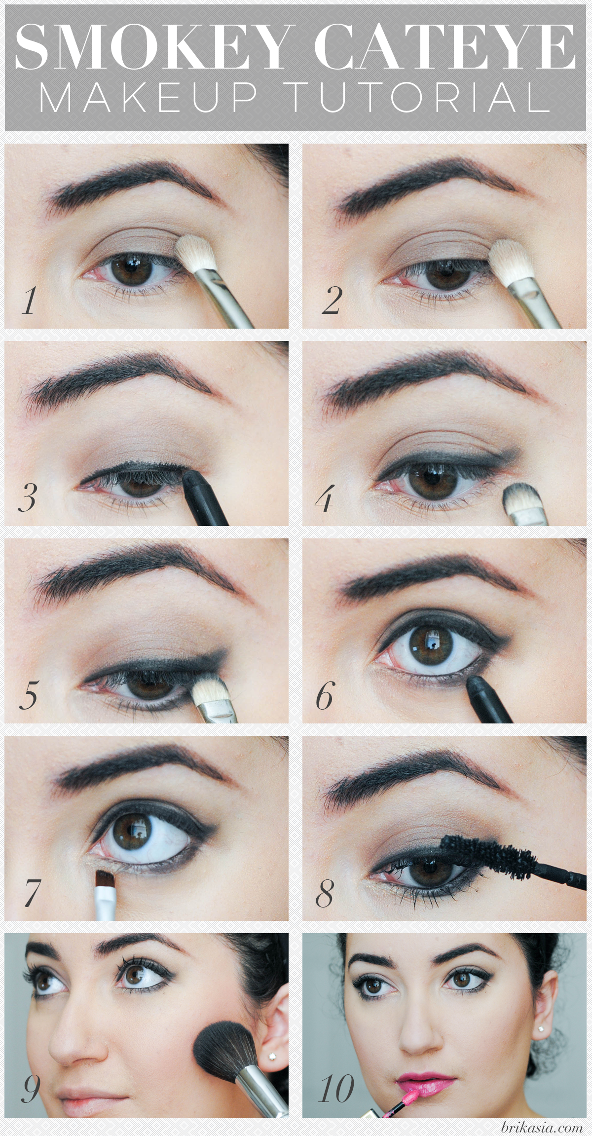 Smokey cateye makeup tutorial makeup tutorials and hair makeup smokey cateye makeup tutorial baditri Choice Image