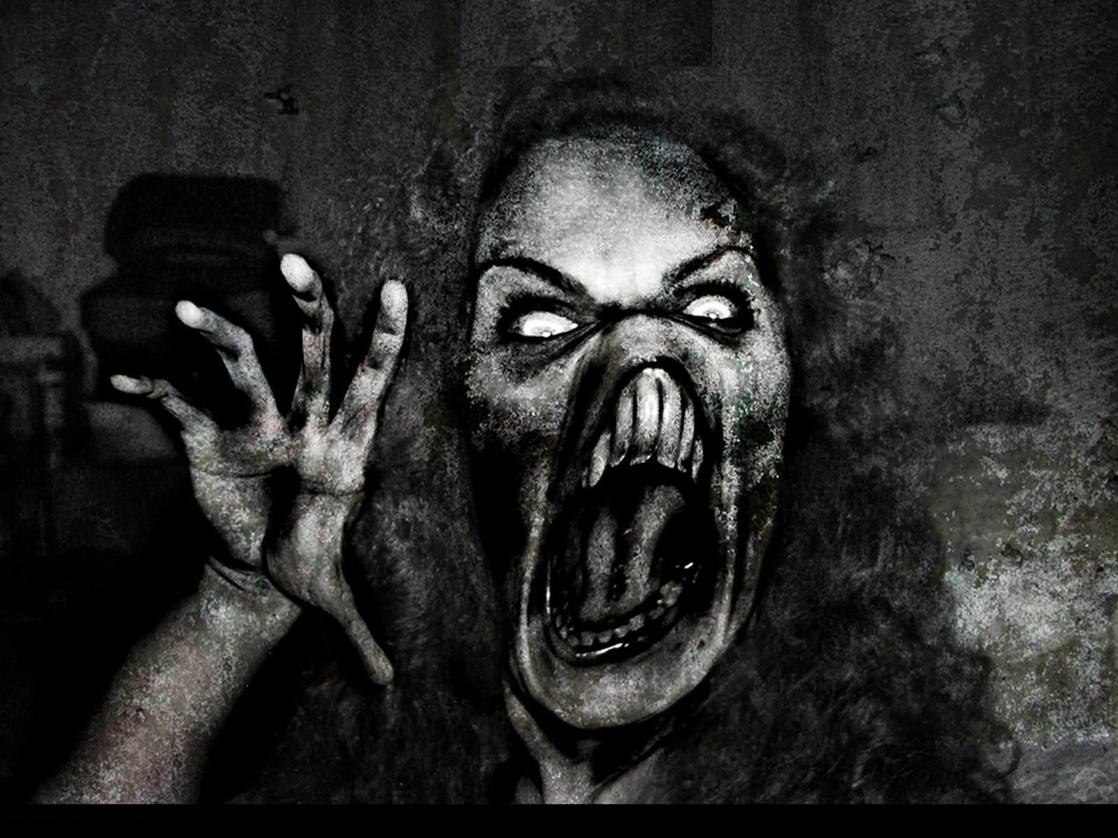 scary beauty | Beauty Scary Girl Wallpaper Background , here you ...