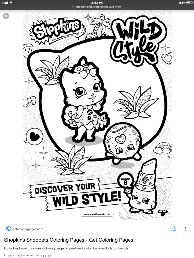 Pin By Wendy On Colorear Shopkins Coloring Books Coloring Book Pages Shopkins Colouring Pages