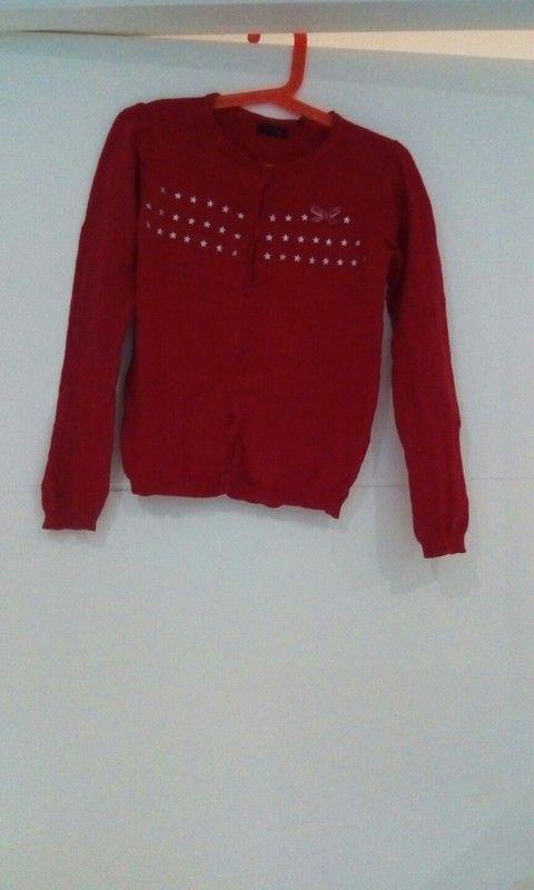 eed2a274285ef Gilet rouge IKKS 8 ans   vêtements   Gilet rouge, Gilet enfant et ...