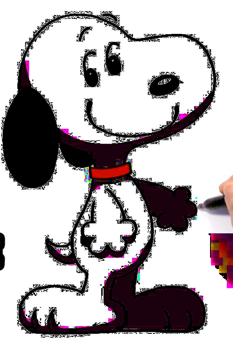 Outline Of Snoopy Png Image Trans Back Snoop Desenho