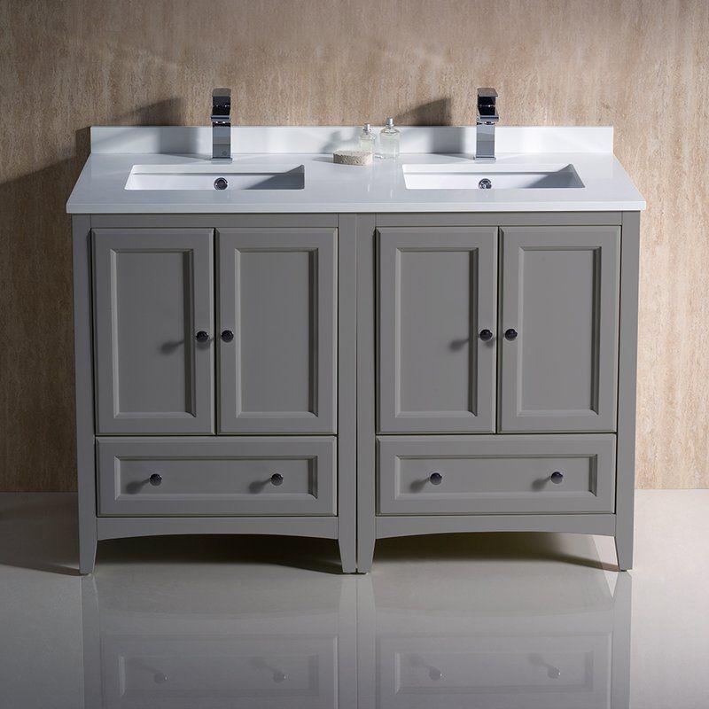 Oxford 48 Double Bathroom Vanity Set