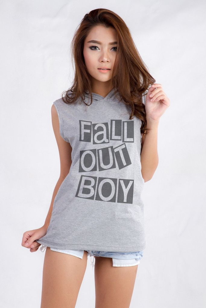 Fall Out Boy Hooded Tank For Teen Teenage Teenager Swag Dope - Teenage tumblr fashion