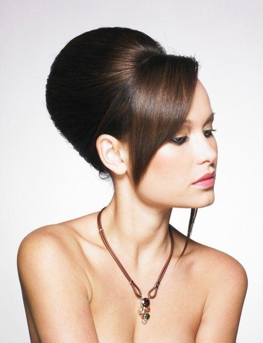 Como Hacer Moos Altos Peinados Con Paoletas En Cabello Largo Con - Peinados-de-moos-altos