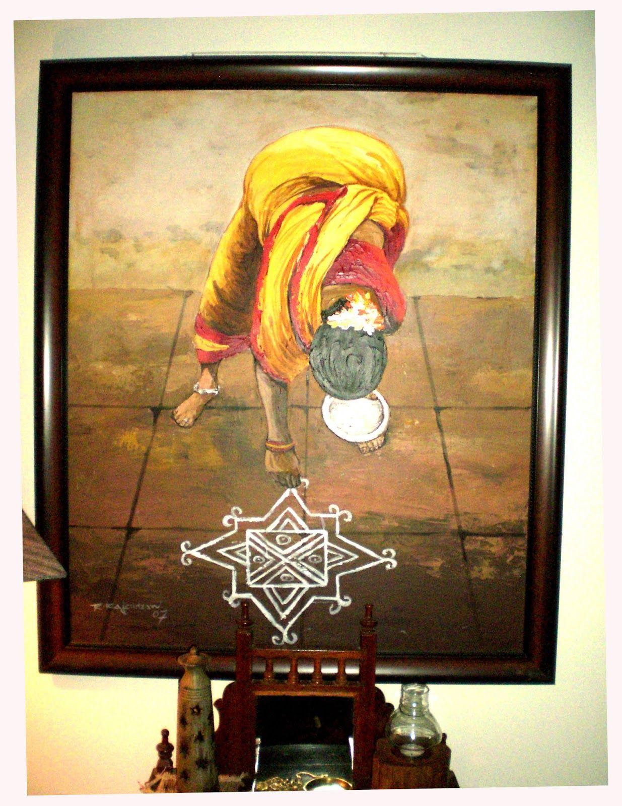 An Indian Design Decor Blog Home Tour Chitra Seetharaman: Seema And Rakesh Artwork Home Bangalore Home Tour