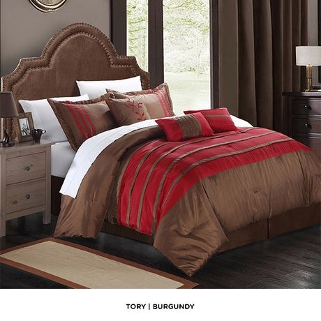 7-Piece Set: Embroidered Romantic Comforter with Pillows & Shams at 51% Savings off Retail!