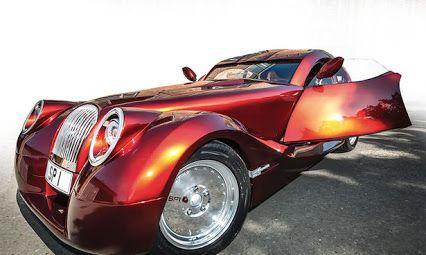 Capra Ovidiu....Morgan SP1...one-off model...