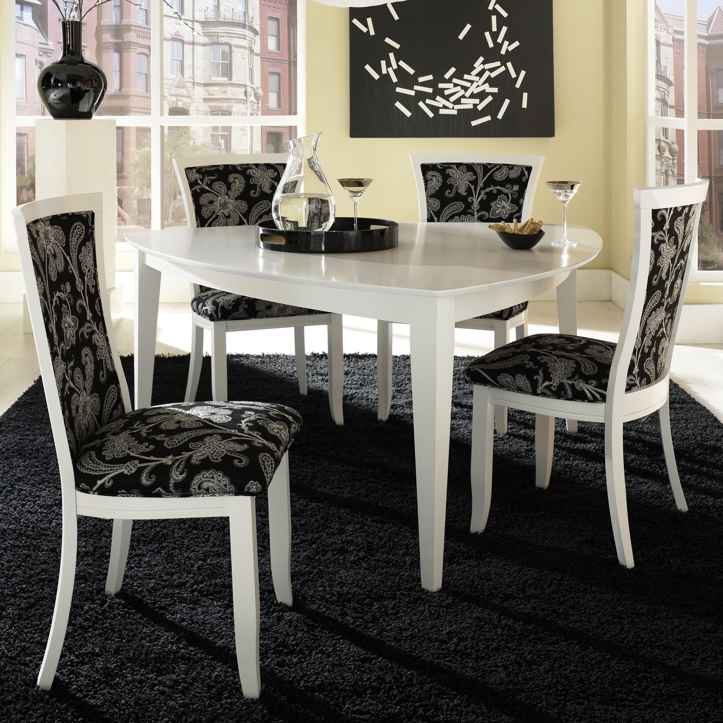 Lovely Custom Dining   Contemporary Customizable Triangular Table Set By Canadel