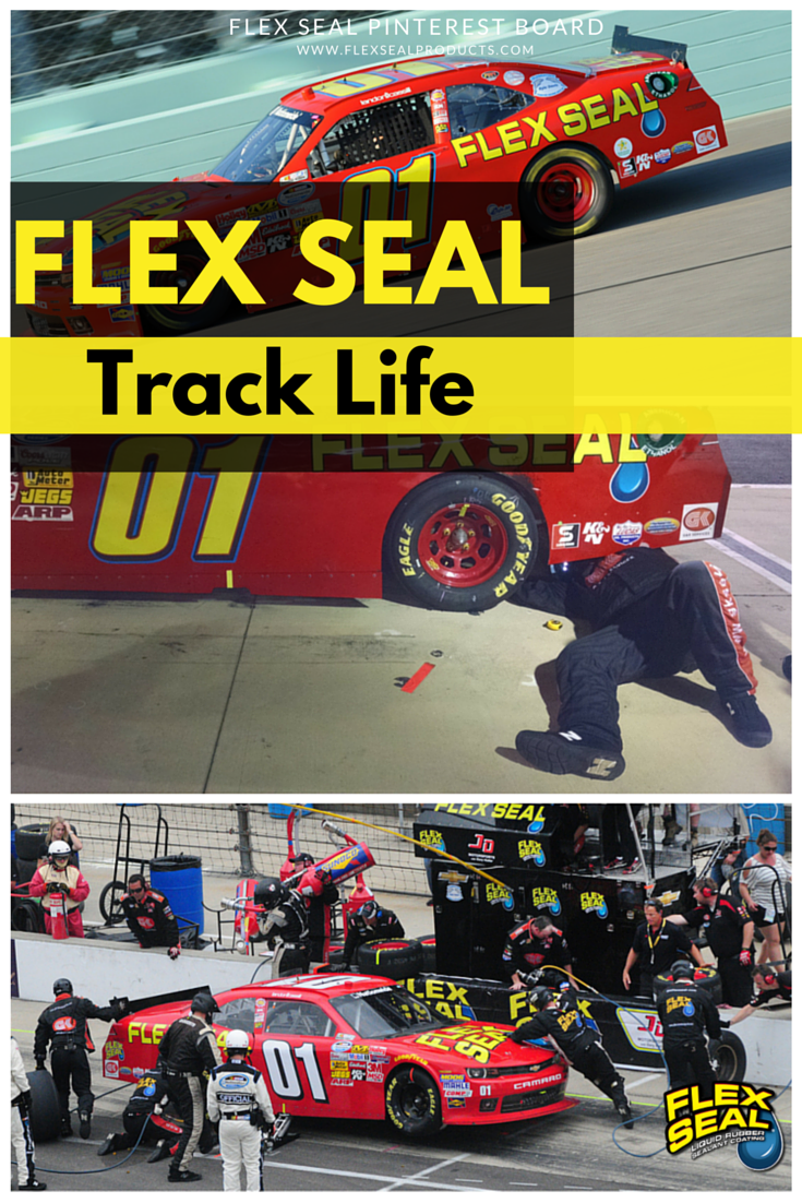 if flex seal is powerful enough for nascar and speed boating you