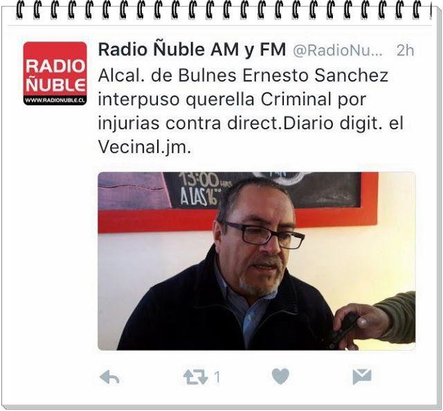 El Vecinal: ALCALDE ERNESTO SÁNCHEZ UNA VEZ QUIERE ACALLAR AL ...
