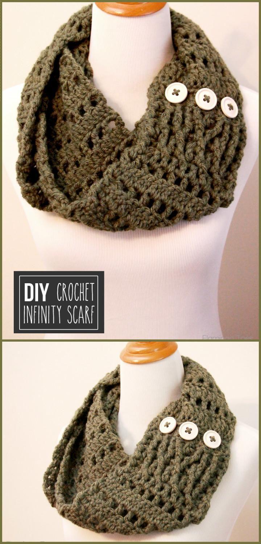 45 Best DIY Infinity Scarf Tutorials - DIY Fashion