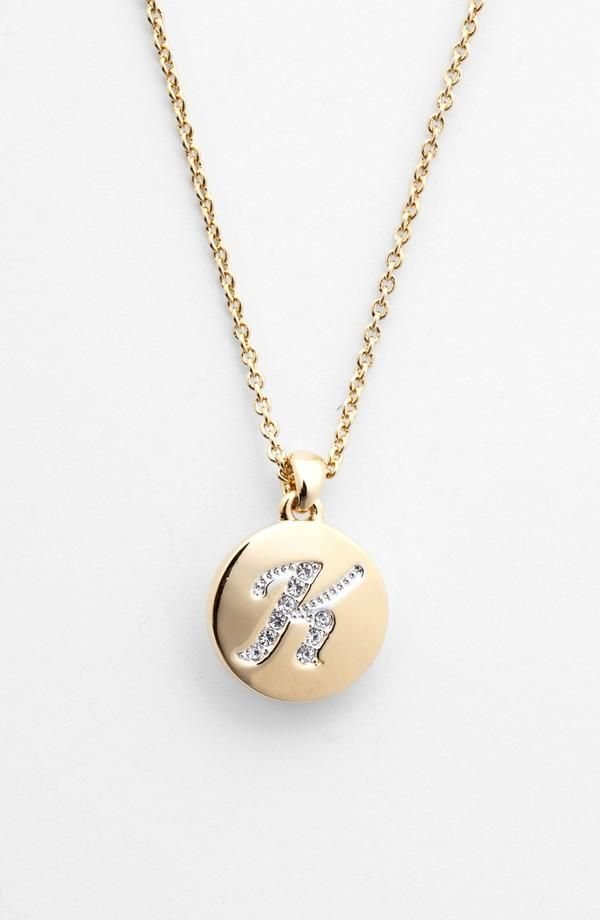 Spell it out in sparkles nadri initial pendant necklace nadri initial pendant necklace aloadofball Image collections