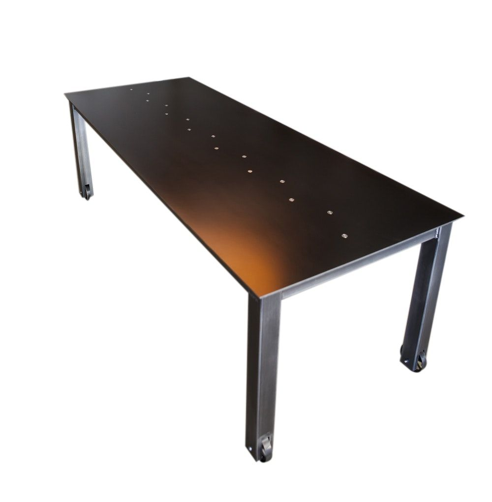 Buy standard steel table by john beck paper steel made to order