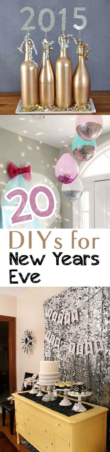 25 DIYs for New Year\u0027s Eve - all about vintage Pinterest DIY