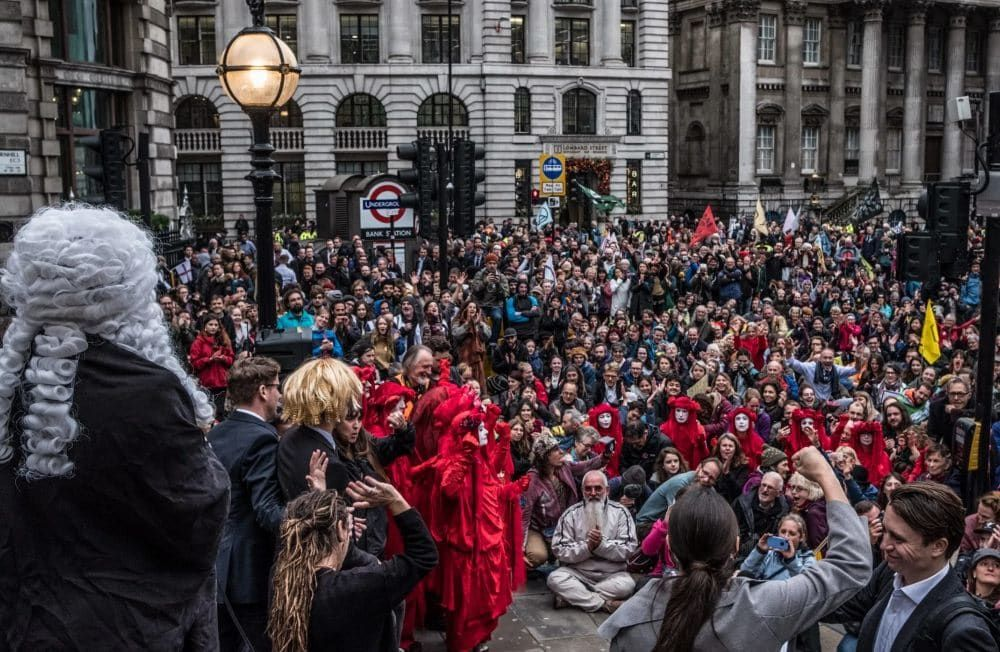 Extinction Rebellion Launches Legal Action After Police