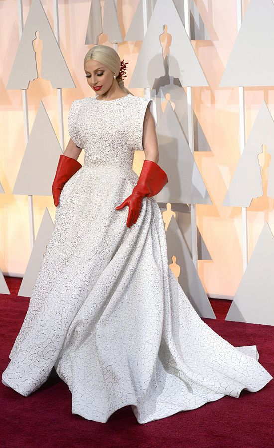 Lady Gaga, en la alfombra roja de los Oscar Los Oscar 2015