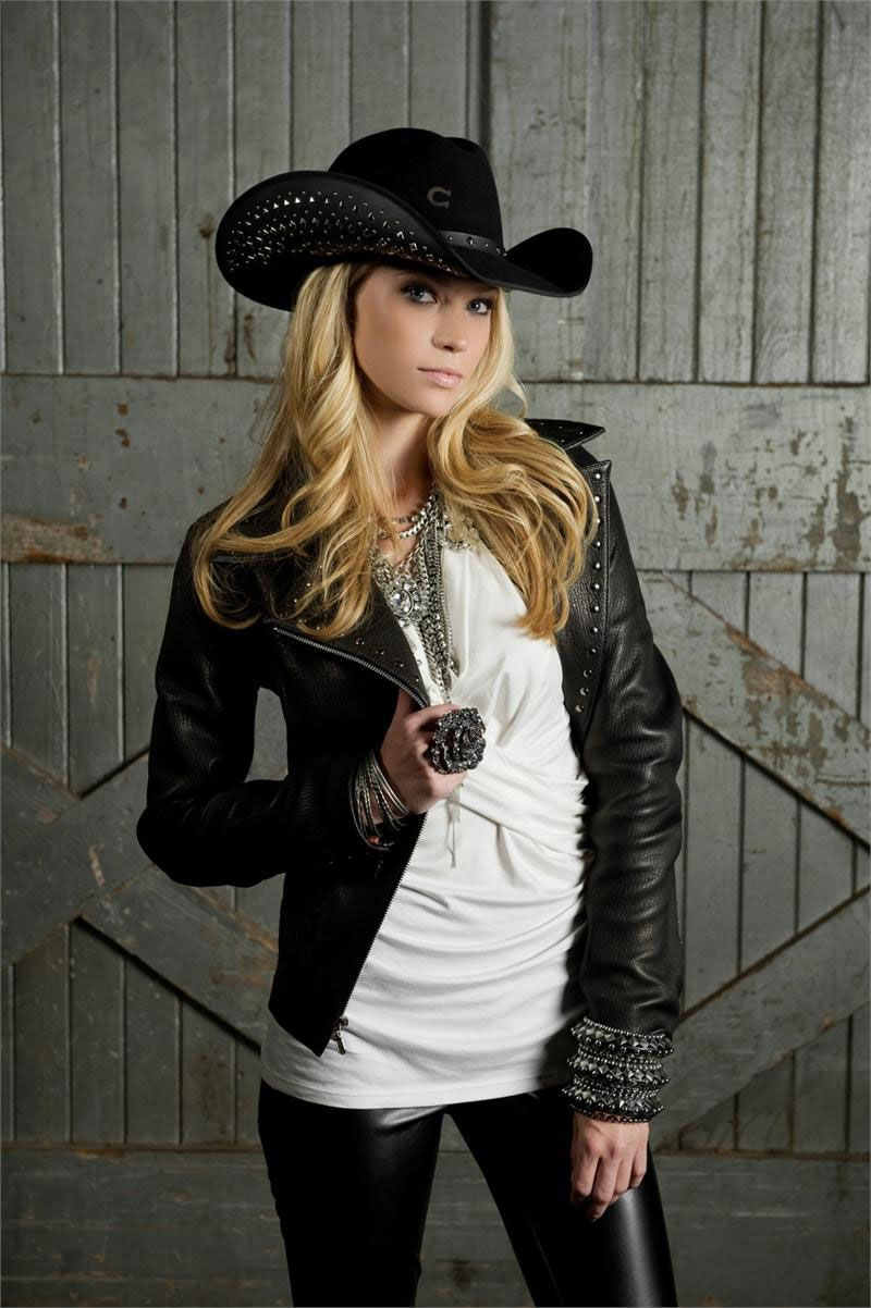Charlie 1 Horse Studly Black Felt Cowboy Hat  ba5b47db23f7