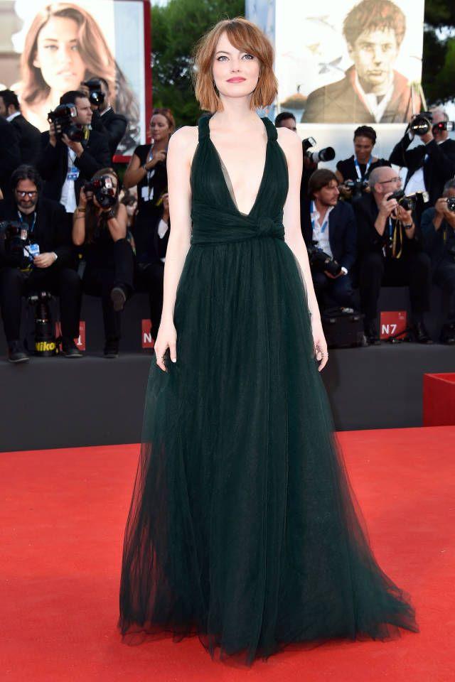Sublimissime Emma Stone !! ♥♥♥ Best Dressed Celebrities Week of August 29th - Derek Blasberg's Best Dressed List - Harper's BAZAAR
