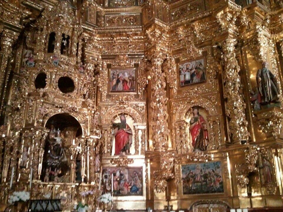 Retablo de la iglesia de la Asunción en Navarrete. Impresionante