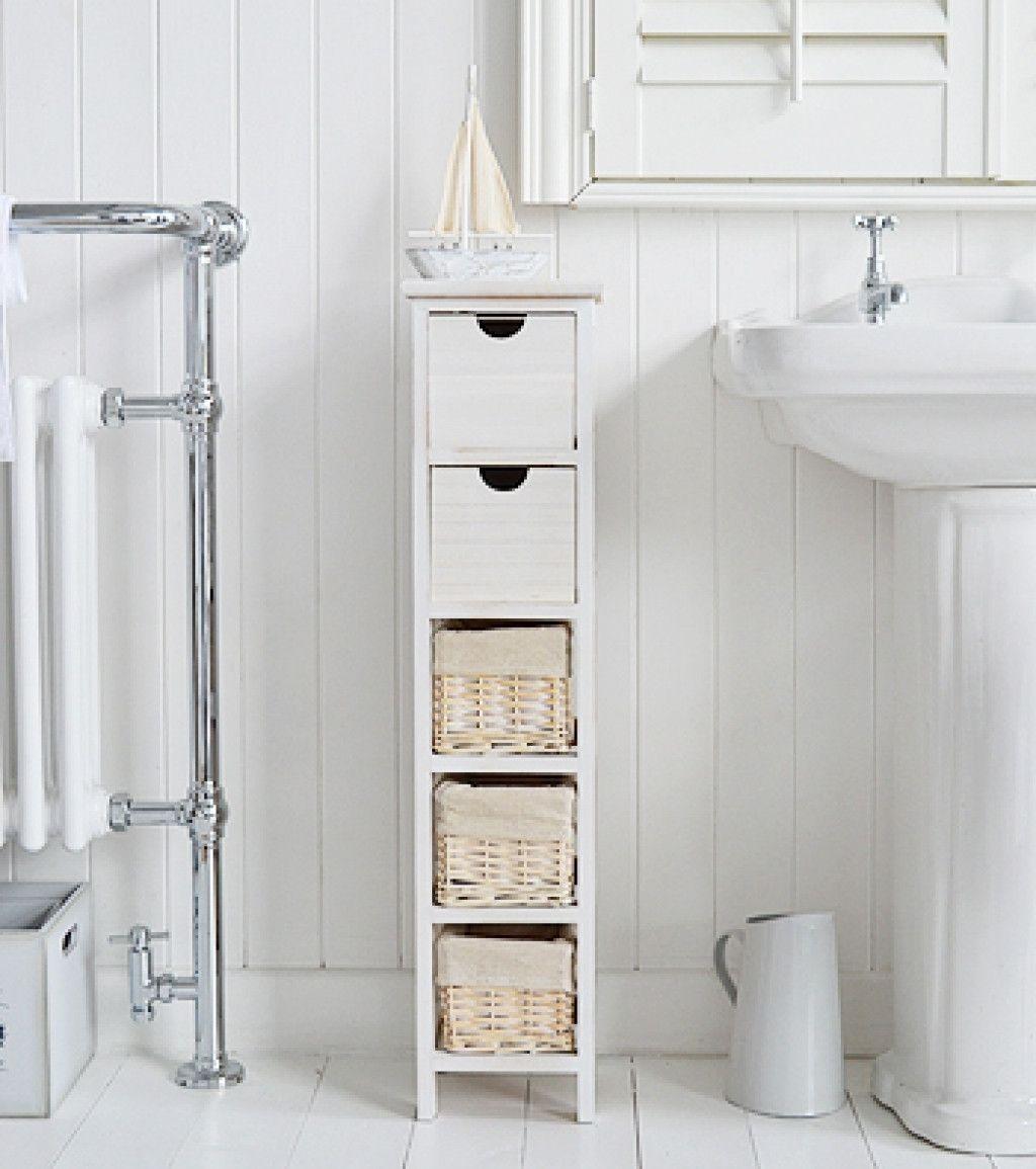 41+ Narrow free standing bathroom cabinets diy