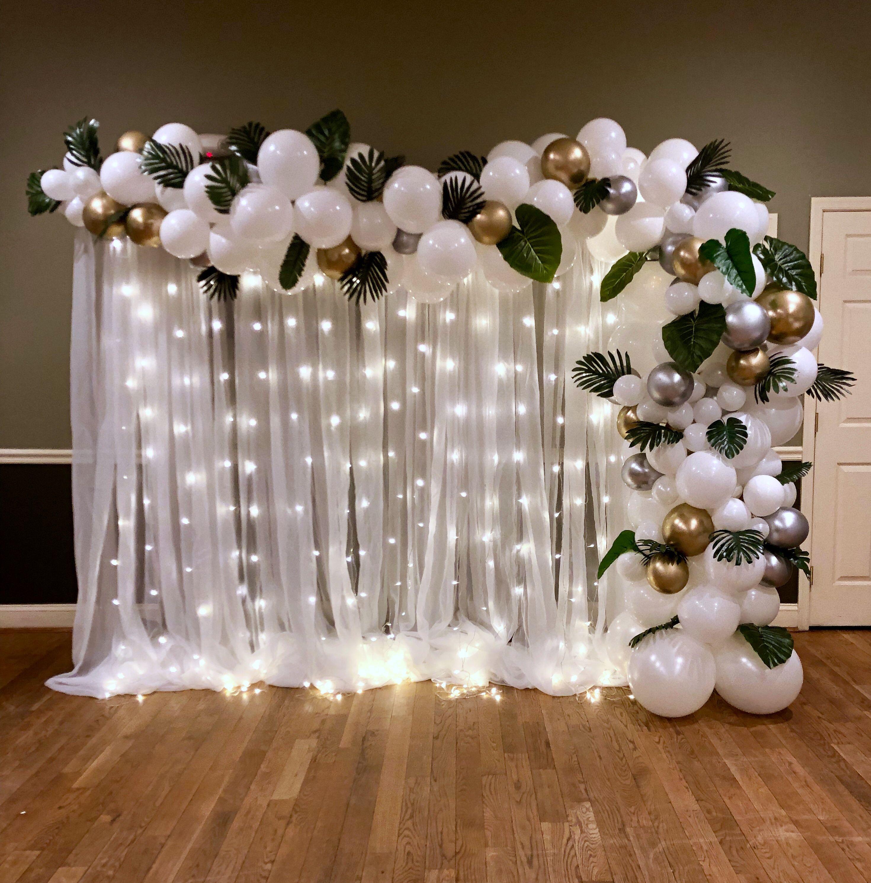Organic Balloon Garland by Paper Bloom Twist