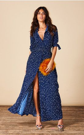 Dove Dress In Navy Star By Dancing Leopard To Buy