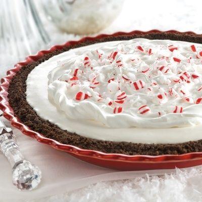 Peppermint Snow Pie