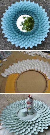 ▷ 1001 + Ideen, wie Sie eine kreative Wanddeko selber machen! #wanddekoselbermachen ▷ 1001 + Ideen, wie Sie eine kreative Wanddeko selber machen!  #ideen #kreative #machen #selber #wanddeko #wanddekorationspiegel #wanddekoselbermachen