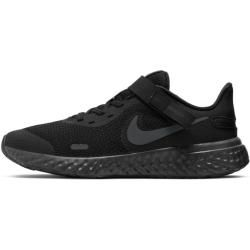 Photo of Nike Revolution 5 FlyEase Laufschuh für ältere Kinder (Weit) – Schwarz Nike