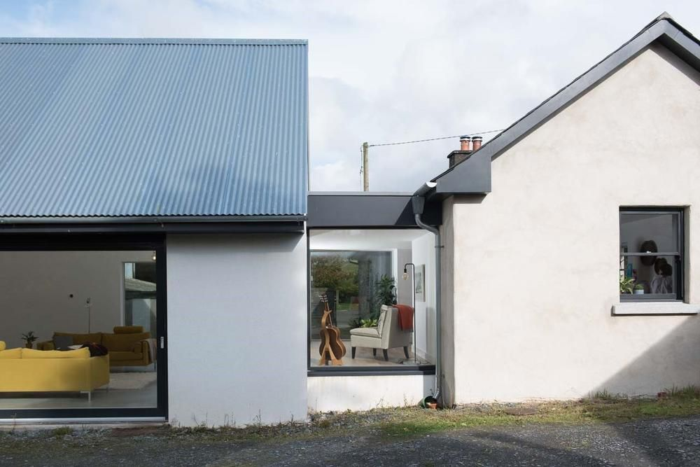 How to transform an old Irish cottage into a 21st century home