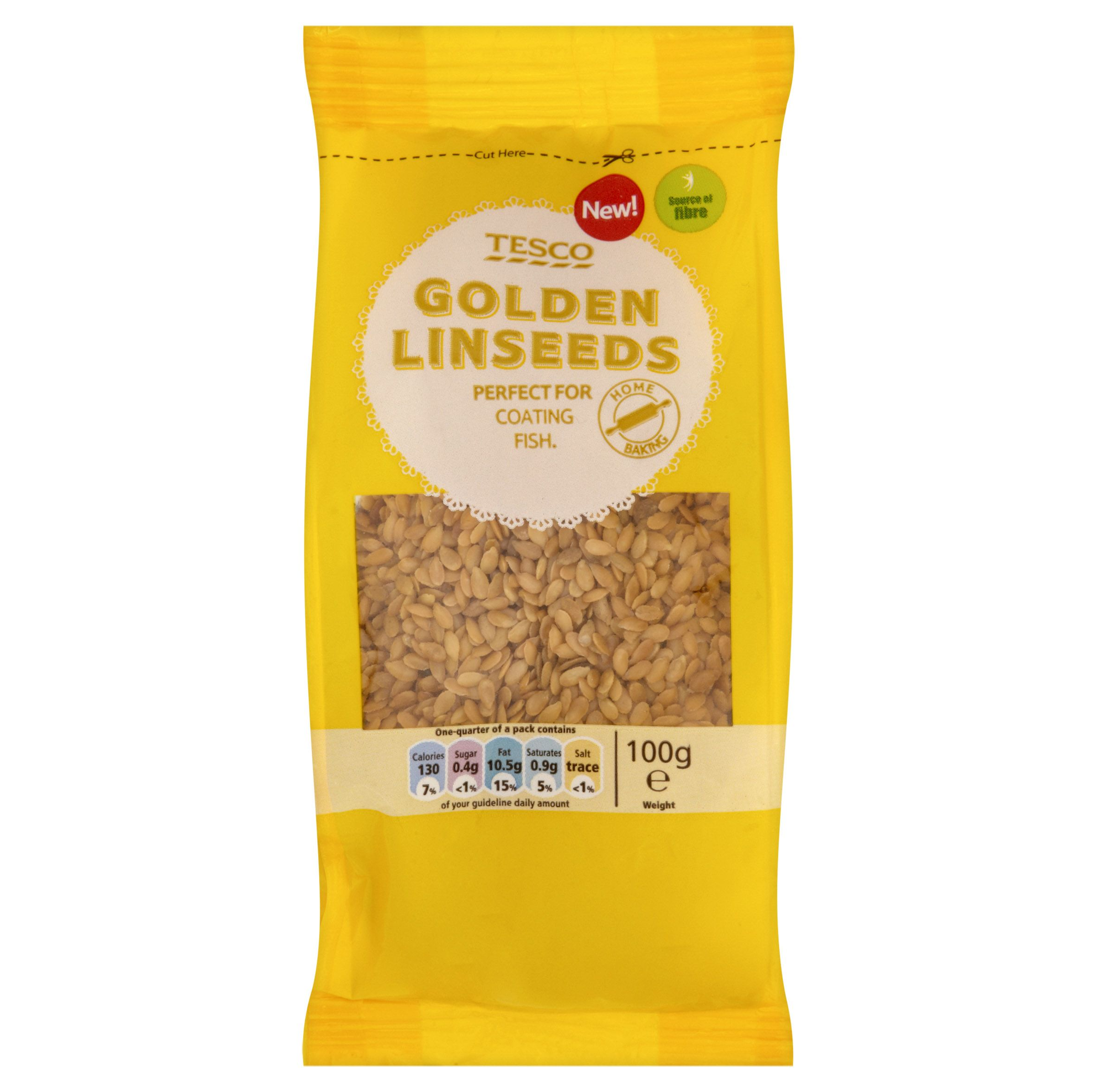 Tesco Golden Linseeds Golden Linseed Tesco Grocery