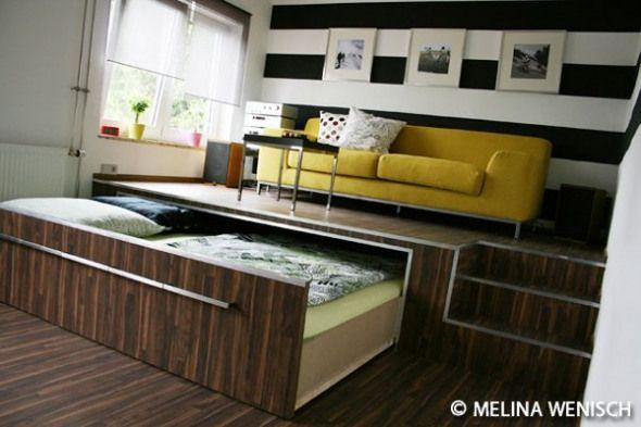 Keptalalat A Kovetkez Re Bett Unter Podest Furnituredesigns