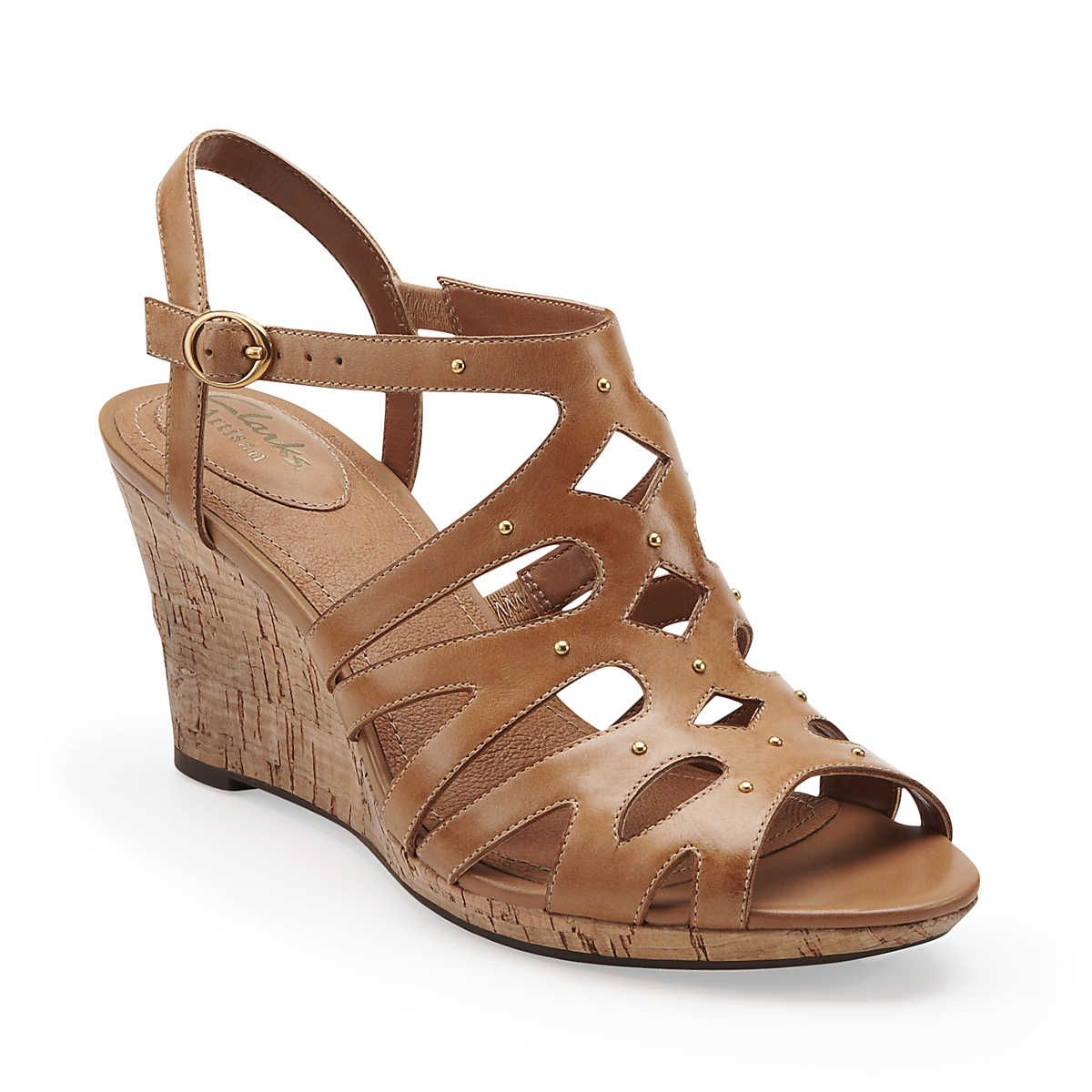 07c991283412 Fiddle String in Tan Leather - Womens Sandals from Clarks