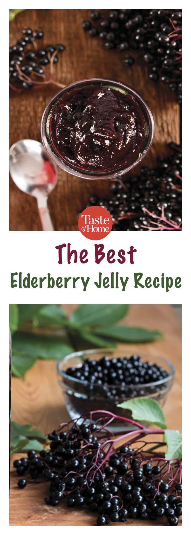 The Best Elderberry Jelly Recipe