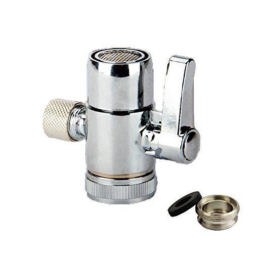 Weirun Kitchen Bathroom Sink Faucet Water Filter Diverter Valve