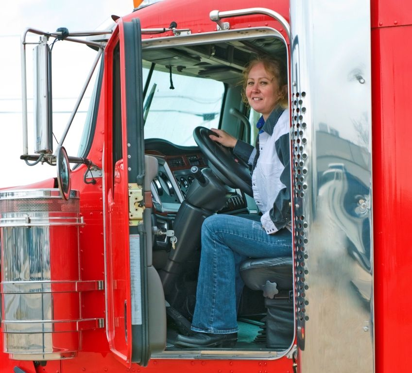 Safety A major concern for women in trucking Female