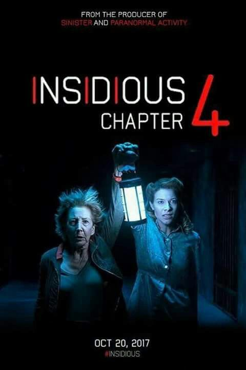 Insidious 4 Newest Horror Movies Scary Movies Upcoming Horror Movies