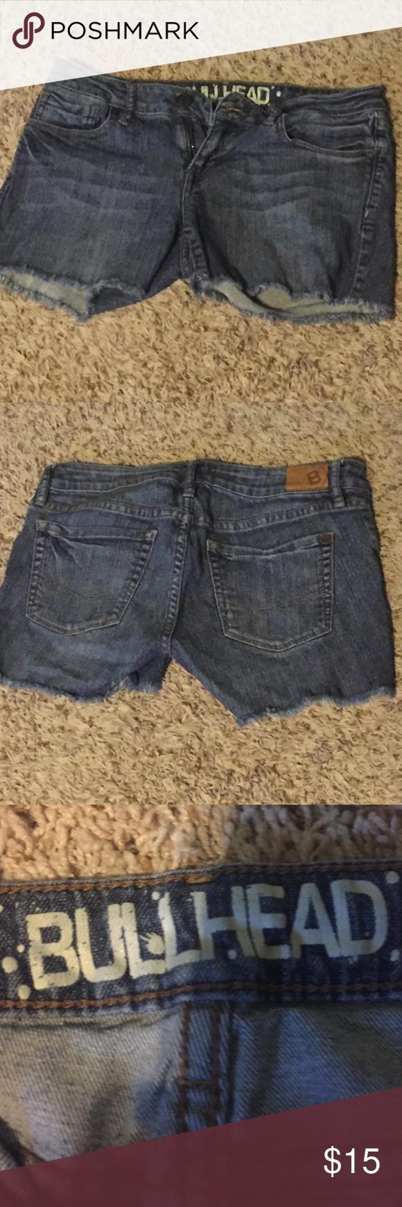 Cut off shorts Bullhead denim cut off shorts Bullhead Shorts Jean Shorts