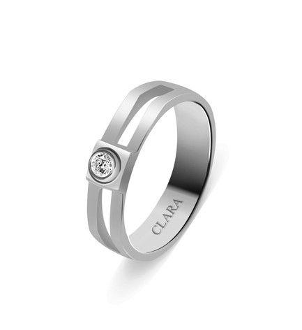 Mario Sterling Silver Swarovski Ring CSWZR44 designer rings